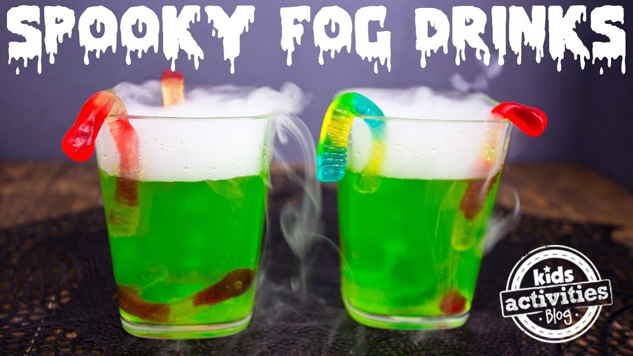 Halloween Party Drinks For Kids  Spooky Fog Drinks for a Halloween Party