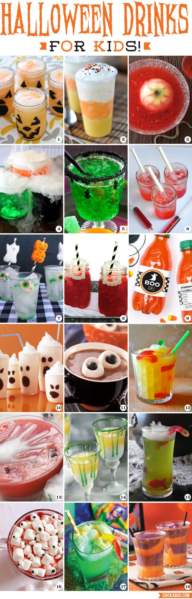 Halloween Party Drinks For Kids  Halloween Drinks for Kids