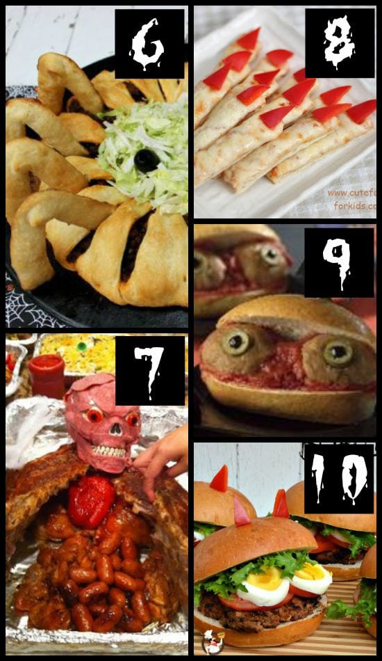 Halloween Party Main Dishes  50 MORE Halloween Food Ideas The Dating Divas