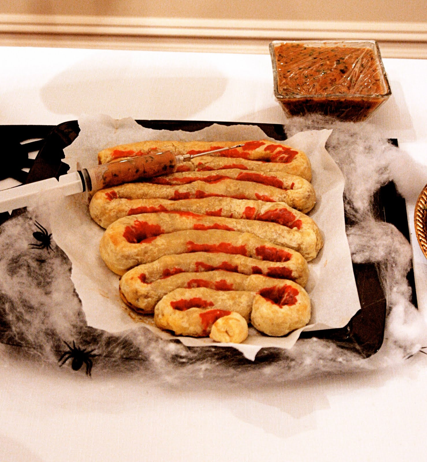 """Halloween Party Main Dishes  Gourmet Girls Gourmet """"Ghouls"""" Halloween Party"""