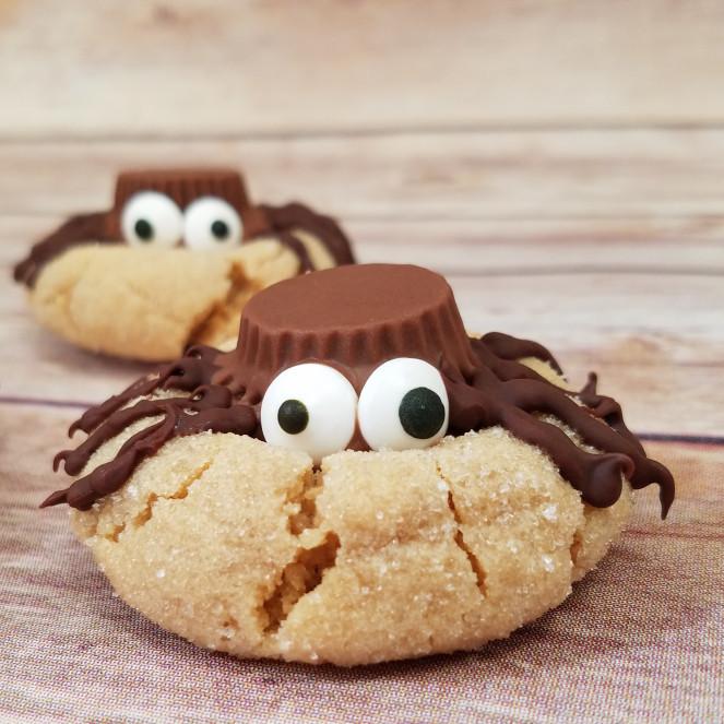 Halloween Peanut Butter Cookies  Halloween Peanut Butter Spider Cookies – Rumbly in my Tumbly