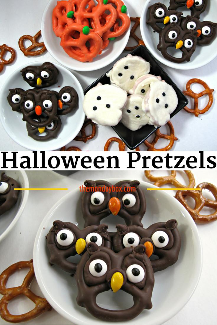 Halloween Pretzels Treats  Halloween Pretzels easy fast and fun The Monday Box
