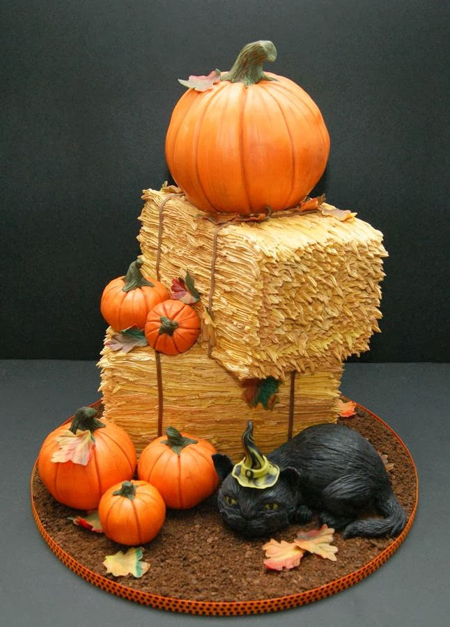 Halloween Pumkin Cakes  Ideas & Products Halloween cakes