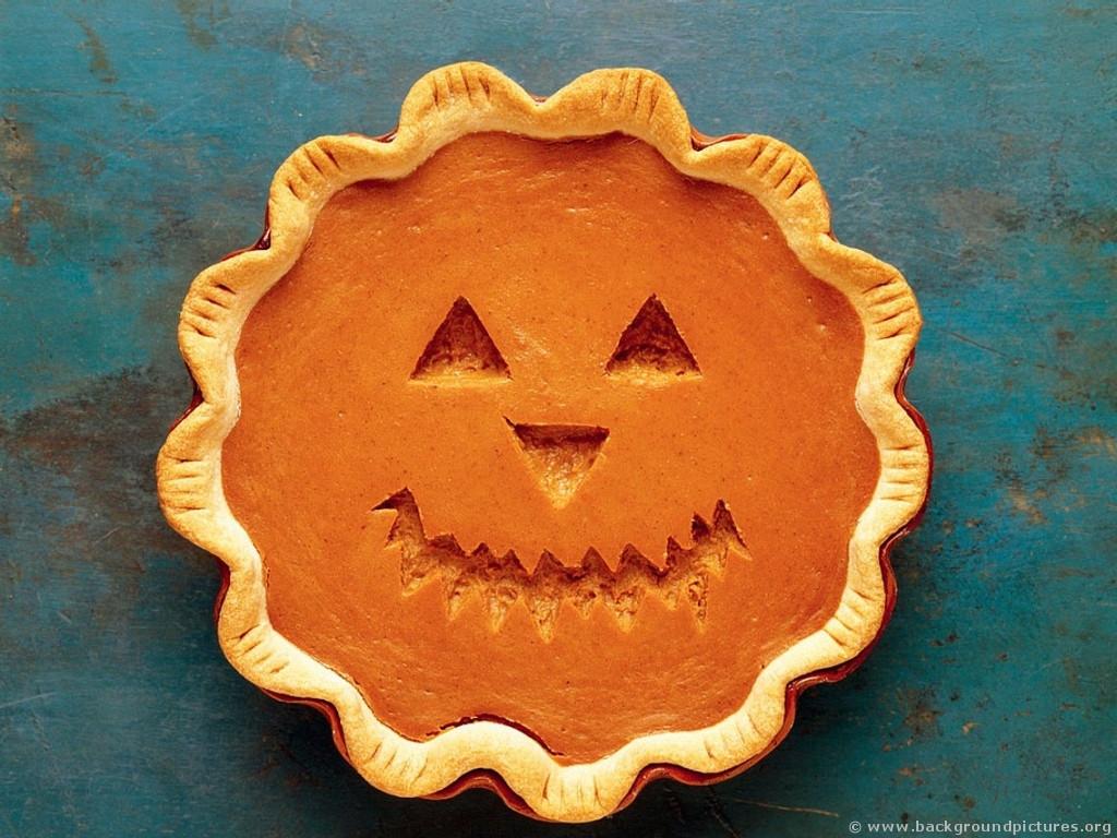 Halloween Pumpkin Pie  Frank Blackhorse