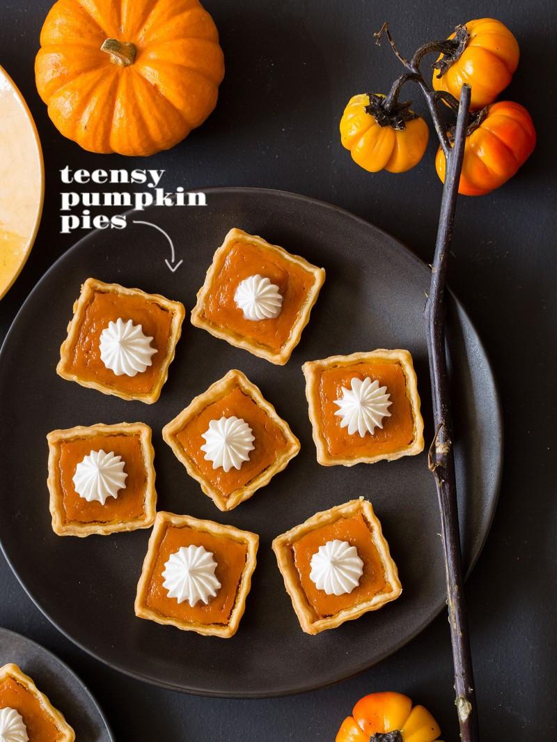 Halloween Pumpkin Pie  Mini Halloween Desserts