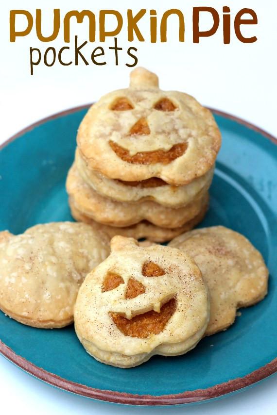 Halloween Pumpkin Pie  Pumpkin Pie Pockets