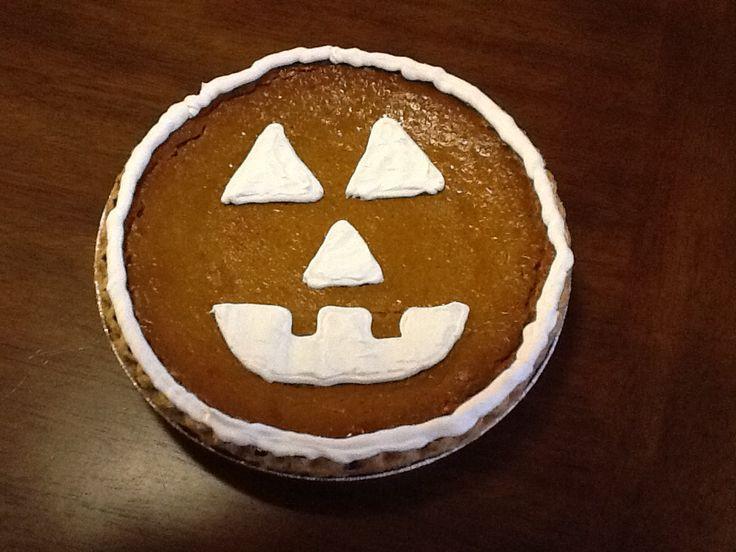 """Halloween Pumpkin Pie  Halloween """"Pumpkin"""" Pie Goo s"""
