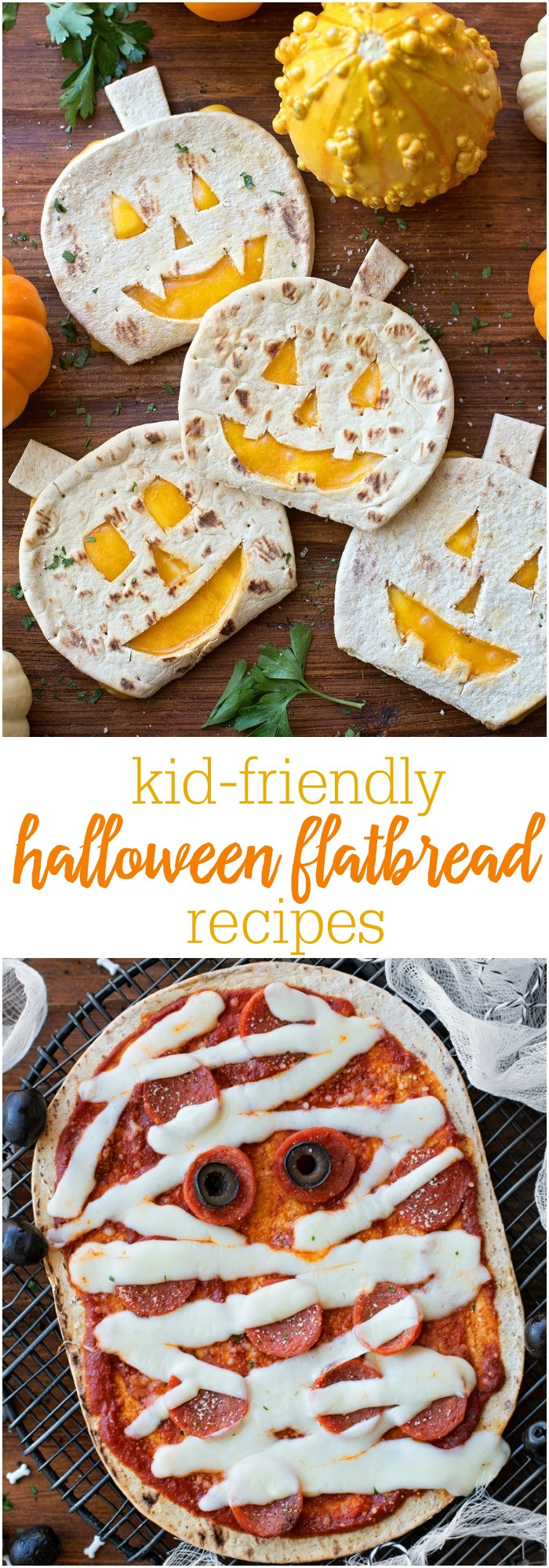 Halloween Pumpkin Recipes  Flatbread Halloween Recipes Lil Luna