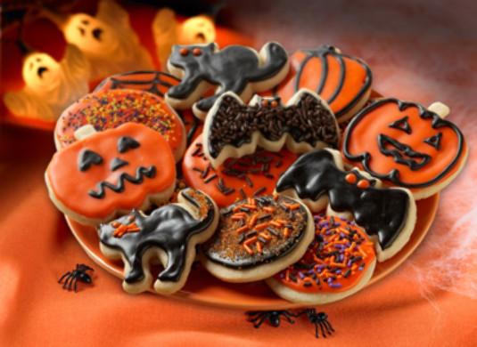 Halloween Sugar Cookies Walmart  Food Celebrations Halloween Cutout Cookies Walmart