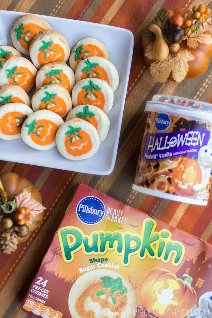 Halloween Sugar Cookies Walmart  Pumpkin Sandwich Cookies