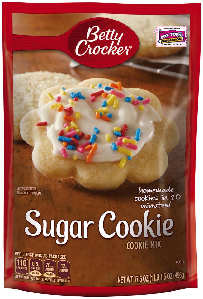 Halloween Sugar Cookies Walmart  Betty Crocker Snickerdoodle Cookie Mix 17 9 oz Pouch