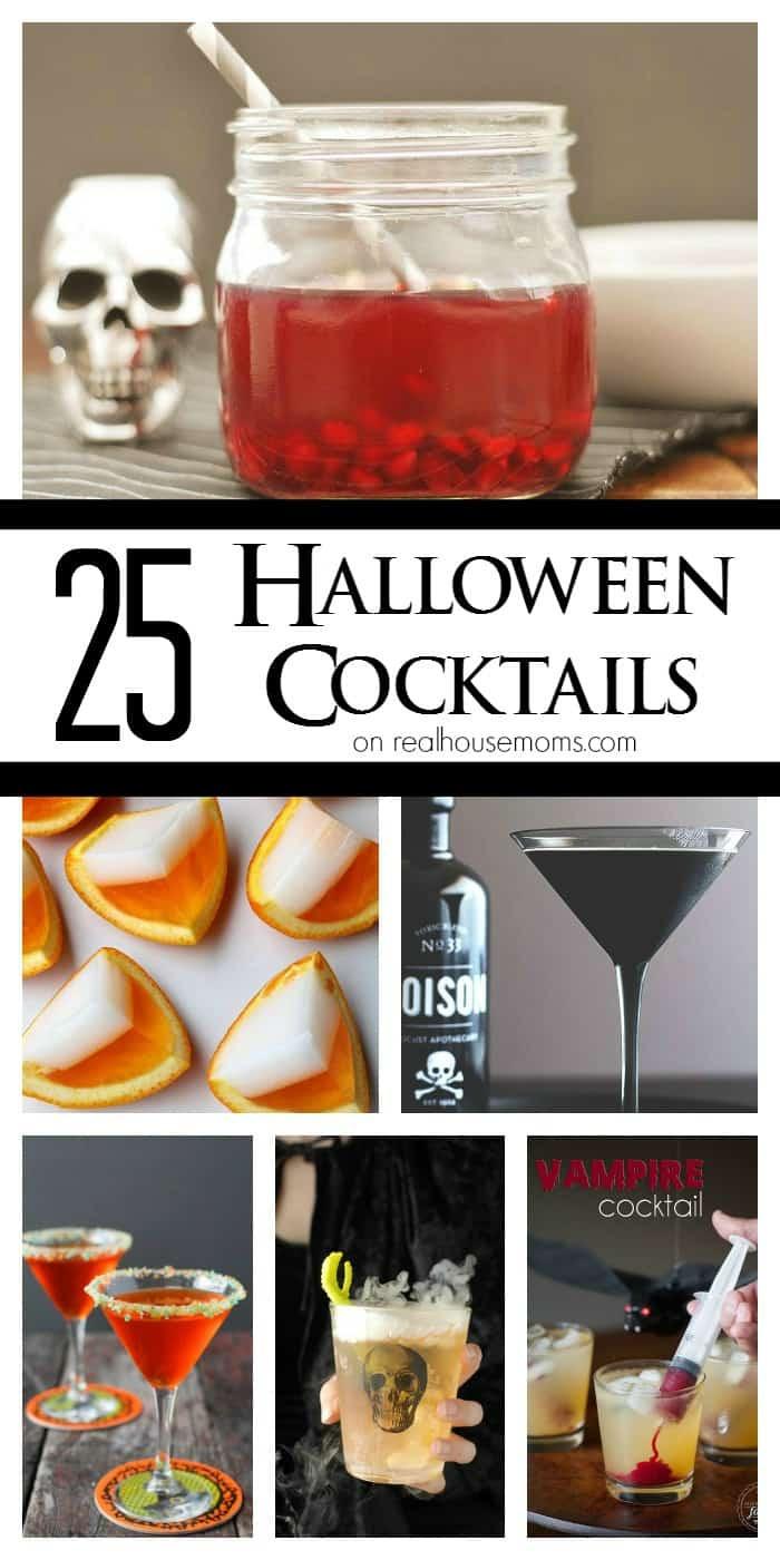 Halloween Themed Drinks  25 Halloween Cocktails ⋆ Real Housemoms