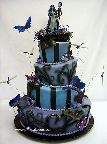 Halloween Themed Wedding Cakes  Her Wedding Planner Blog Archive Halloween Themed