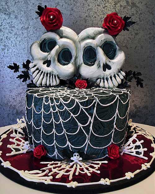 Halloween Wedding Cakes Ideas  Halloween Countdown Halloween Wedding Cakes