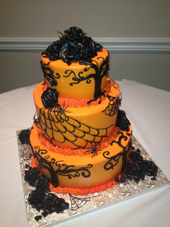 Halloween Wedding Cakes Ideas  DIY Halloween Cake Ideas Party XYZ