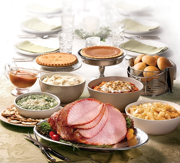 Ham Christmas Dinner  Boston Market Holiday Survey Finds Consumers Skimp on