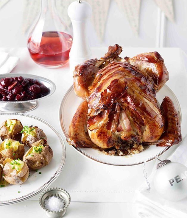 Ham Recipes For Thanksgiving  Christmas turkey and ham recipes Gourmet Traveller