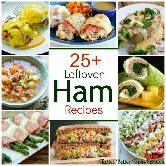 Ham Recipes For Thanksgiving  25 Delicious Leftover Ham Recipes