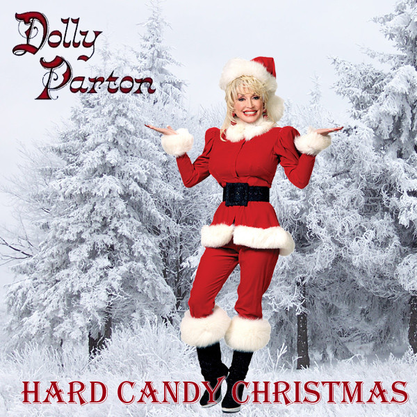 Hard Candy Christmas By Dolly Pardon  AllBum Art Alternative Art Work for Album and Single Covers