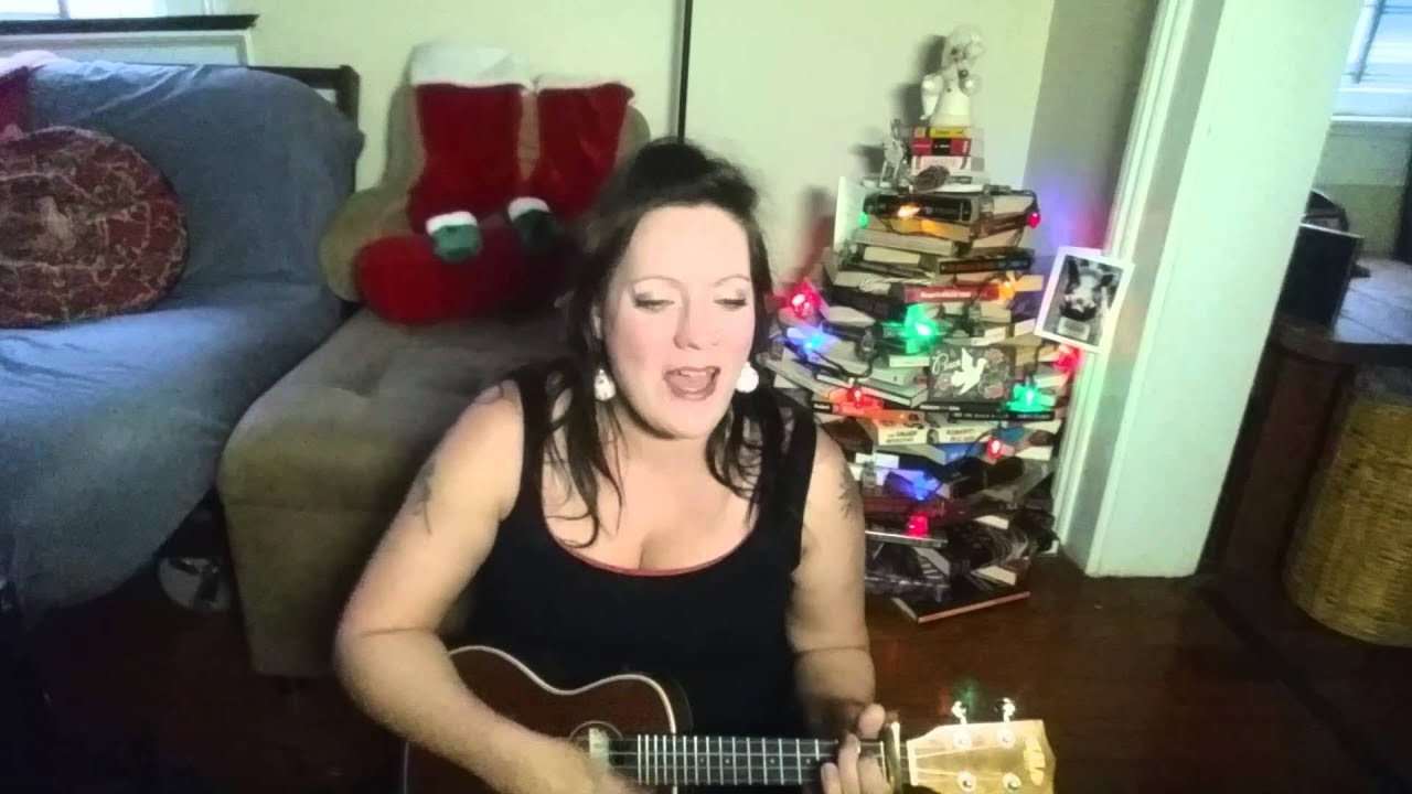Hard Candy Christmas By Dolly Pardon  Hard Candy Christmas Dolly Parton Ukulele Cover by Sally