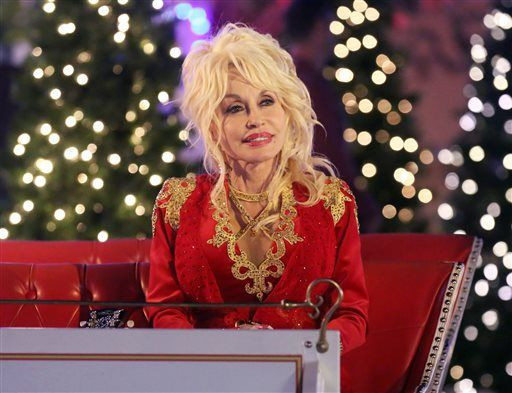Hard Candy Christmas Dolly Parton  Parton Christmas tree lighting Cowboys give NBC big week
