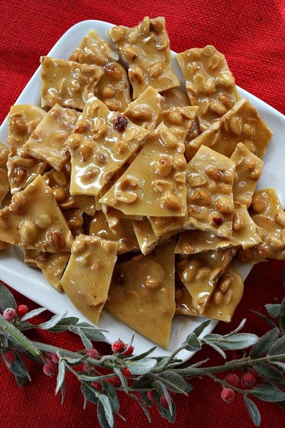 Hard Candy Christmas Trisha Yearwood  Peanut brittle Peanuts and Peanut brittle recipe on Pinterest