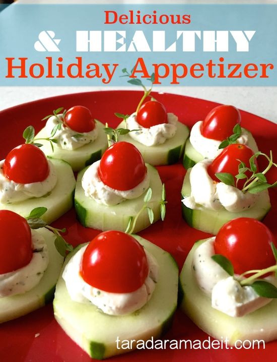 Healthy Christmas Appetizers For Parties  Healthy & Quick Holiday Appetizer Recipe with Ranch