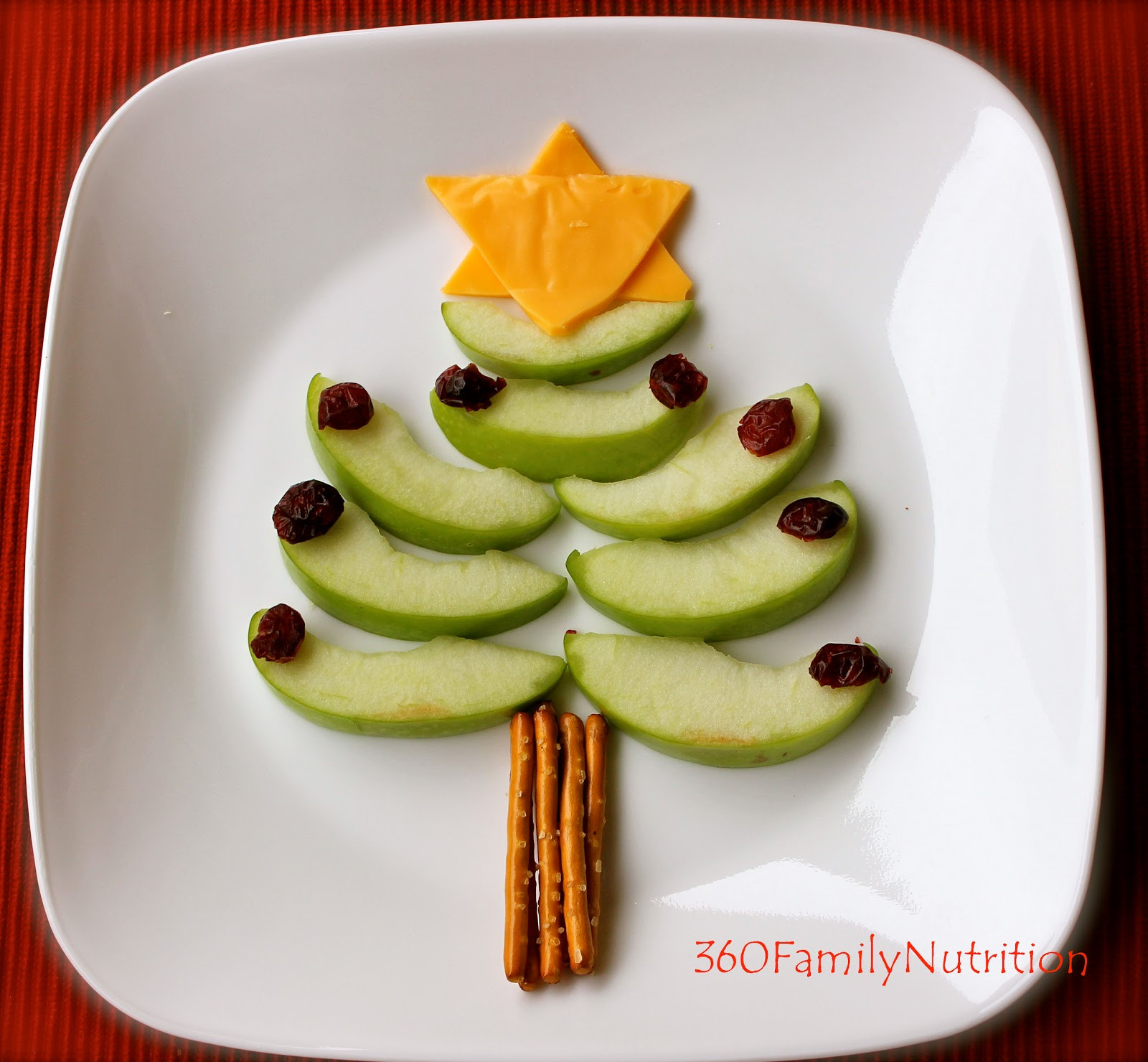 Healthy Christmas Snacks For Kids  360FamilyNutrition Healthy Christmas Tree Snack