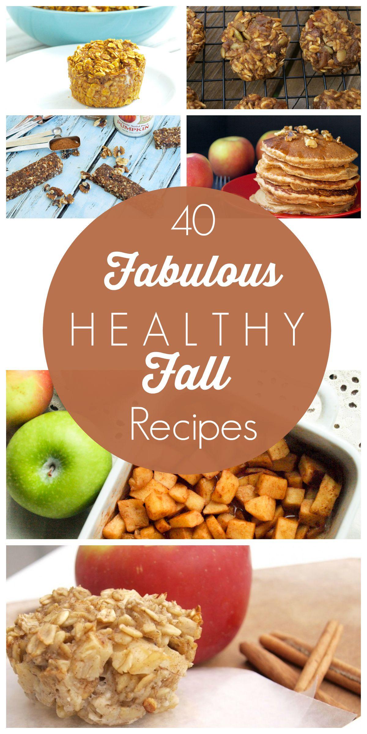 Healthy Fall Breakfast Recipes  40 Fabulous Healthy Fall Recipes Happy Healthy Mama