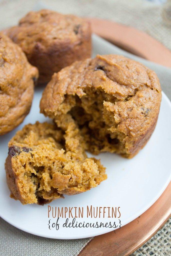 Healthy Fall Breakfast Recipes  Best 25 Healthy pumpkin muffins ideas on Pinterest