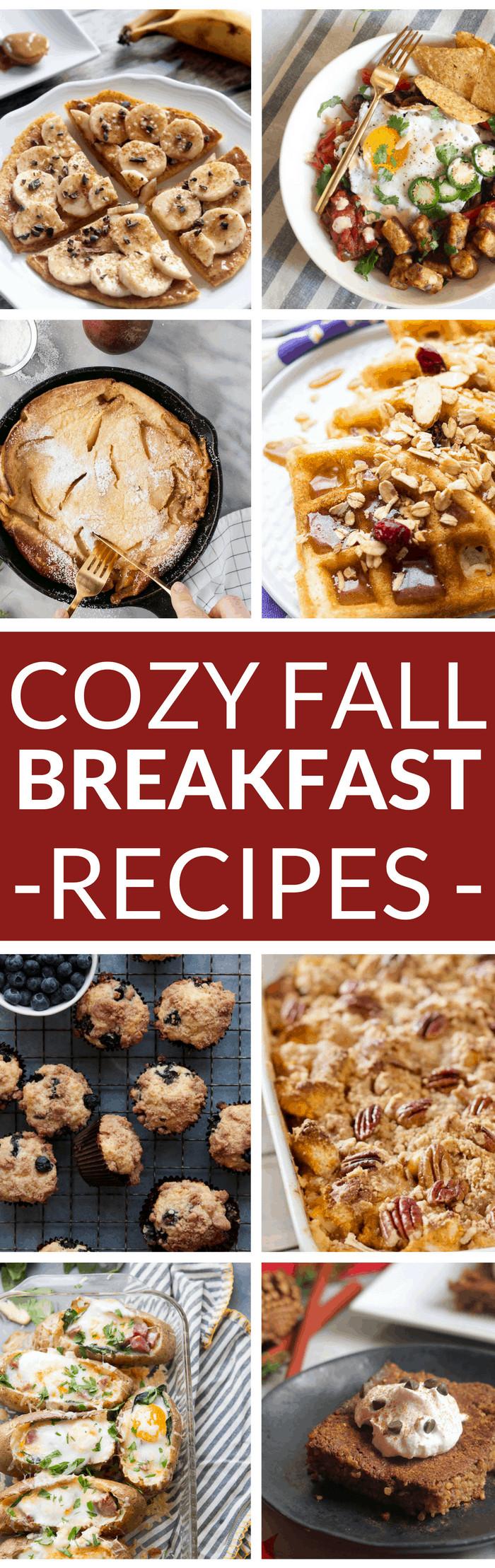 Healthy Fall Breakfast Recipes  25 Cozy Fall Breakfast Recipes Hummusapien
