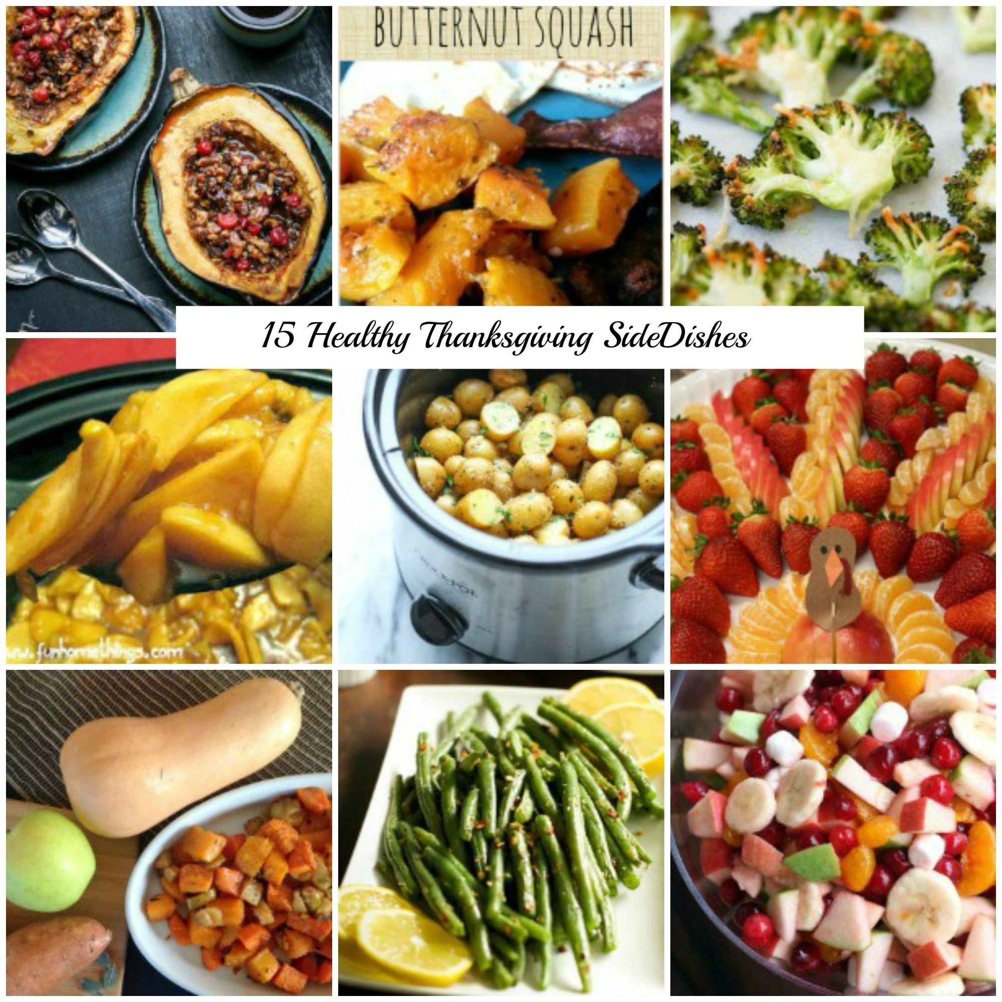 Healthy Side Dishes For Thanksgiving  15 Healthy Thanksgiving Side Dish Recipes That are Still