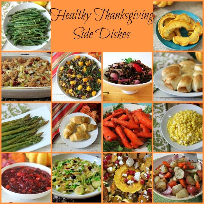 Healthy Side Dishes For Thanksgiving  Thanksgiving Side Dishes