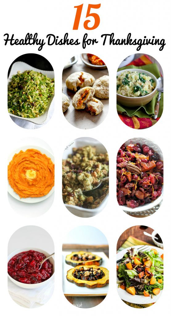 Healthy Side Dishes For Thanksgiving  15 Healthy Side Dishes for Thanksgiving