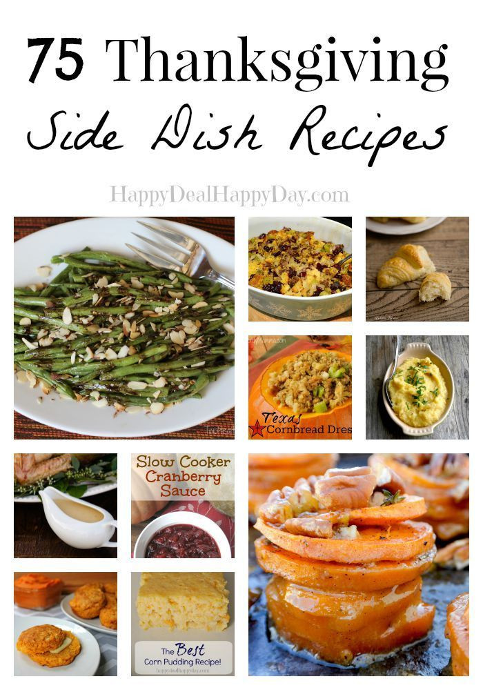Healthy Side Dishes For Thanksgiving  75 Thanksgiving Side Dish Recipes Look No Further For