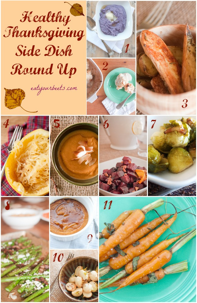 Healthy Side Dishes For Thanksgiving  Healthy Thanksgiving Side Dishes Eat Your Beets