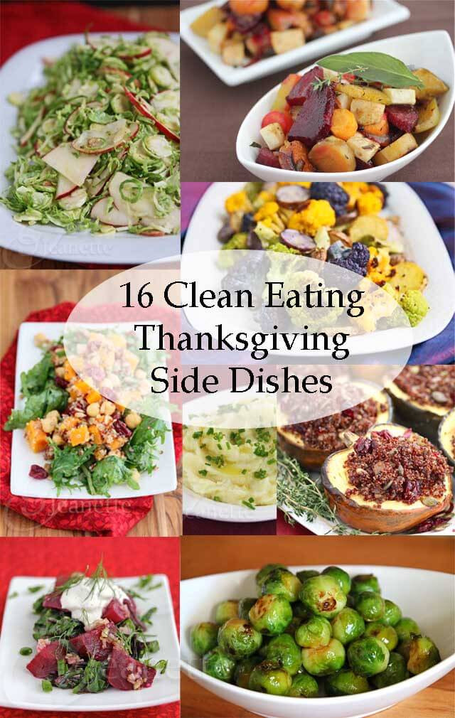 Healthy Side Dishes For Thanksgiving  16 Clean Eating Thanksgiving Side Dish Recipes Jeanette