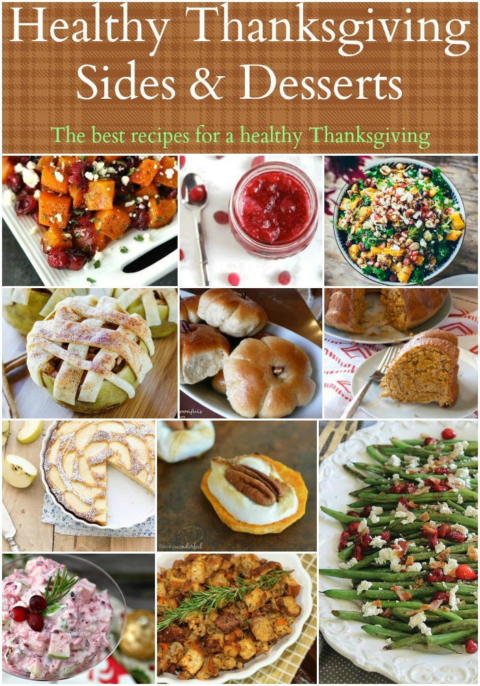 Healthy Side Dishes For Thanksgiving  Healthy Thanksgiving Sides & Desserts Recipes Food Done