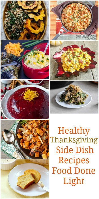 Healthy Side Dishes For Thanksgiving  Healthy Thanksgiving Sides & Desserts Recipes