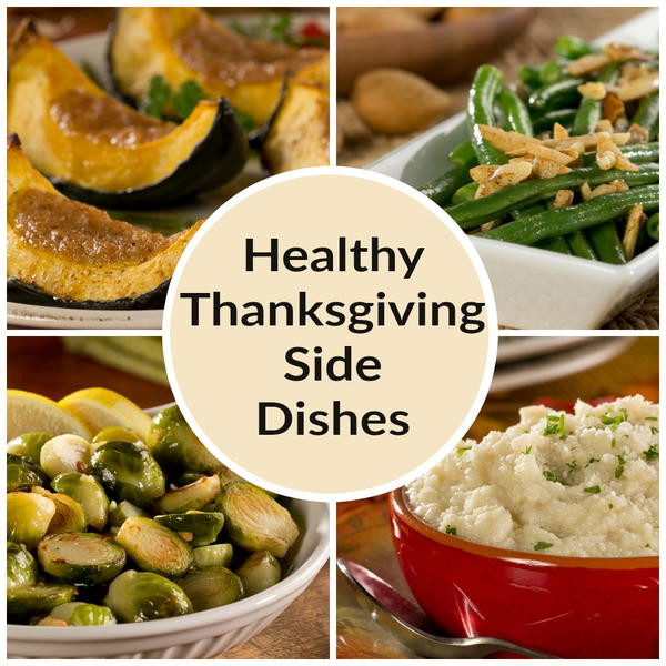 Healthy Side Dishes For Thanksgiving  Thanksgiving Ve able Side Dish Recipes 4 Healthy Sides