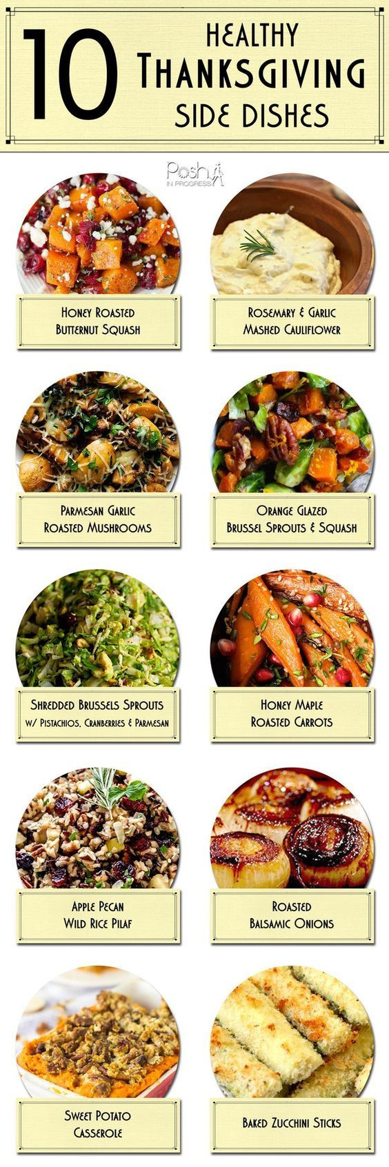Healthy Side Dishes For Thanksgiving  TASTY TUESDAY 10 Healthy Thanksgiving Side Dishes