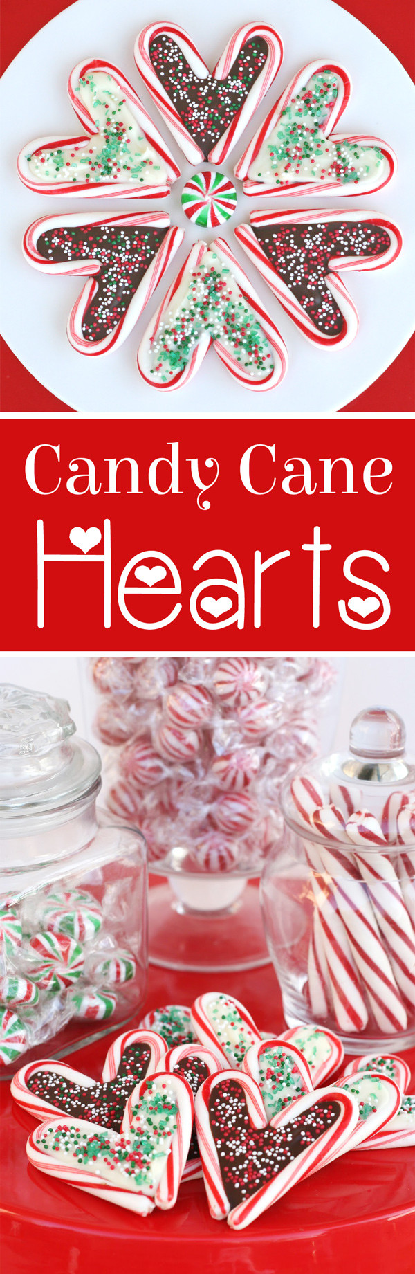 Heart Candy Christmas  Candy Cane Hearts – Glorious Treats