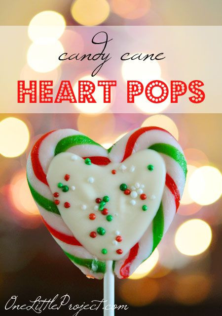 Heart Candy Christmas  Candy Cane Hearts Recipe