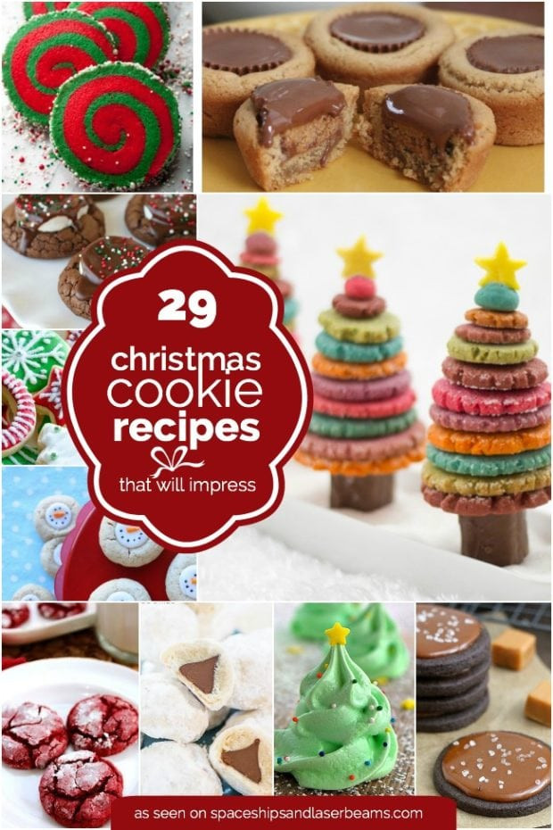 Holiday Baking Ideas Christmas  29 Easy Christmas Cookie Recipe Ideas & Easy Decorations