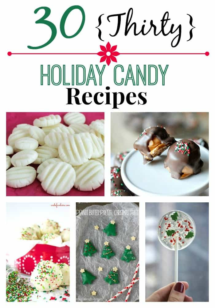 "Homemade Christmas Candy Gifts  ""Great "" Deep South Recipes Thirty Holiday Candy Recipes"