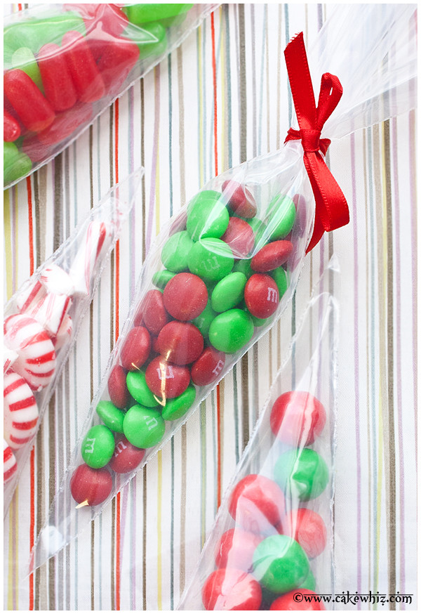 Homemade Christmas Candy Gifts  Christmas Candy Cones CakeWhiz