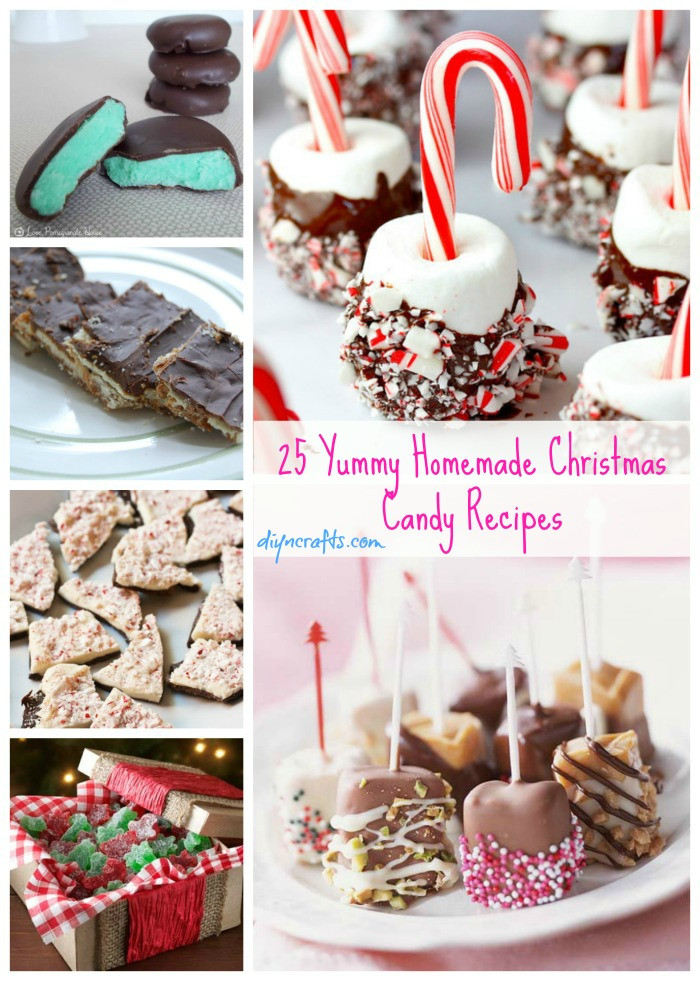 Homemade Christmas Candy Recipes  25 Yummy Homemade Christmas Candy Recipes DIY & Crafts