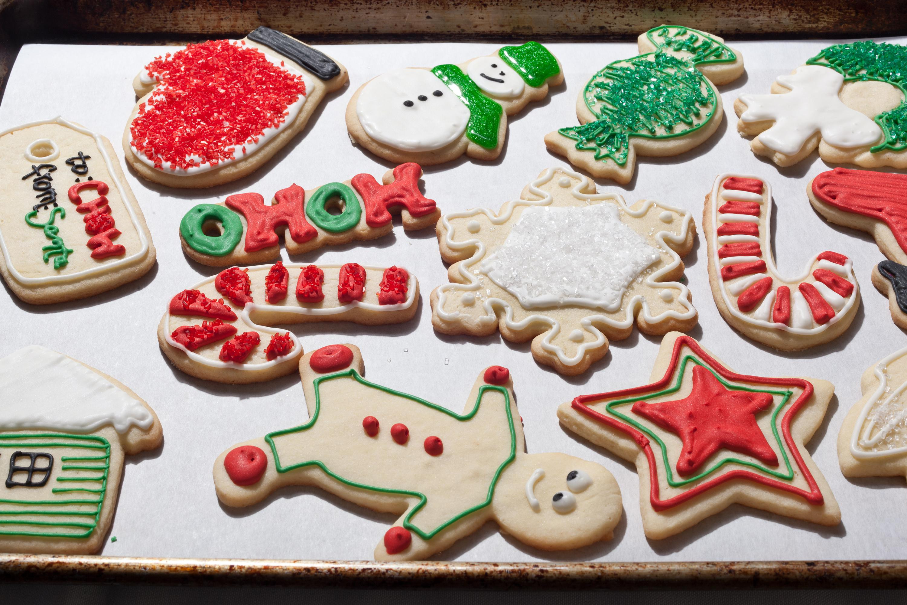 Homemade Christmas Cookies For Sale  Christmas Sugar Cookies Recipe Chowhound