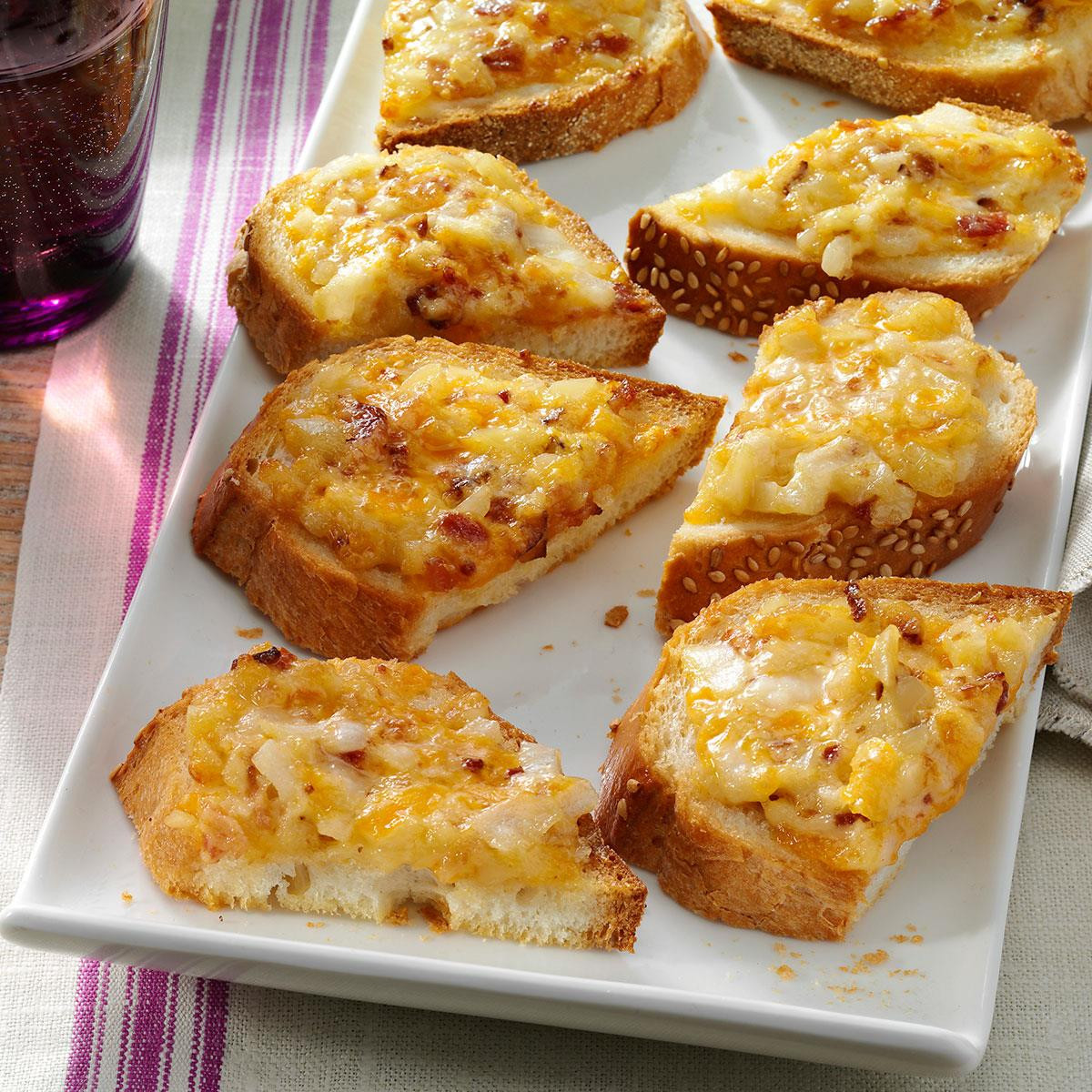 Hot Christmas Appetizers  Almond Cheddar Appetizers Recipe