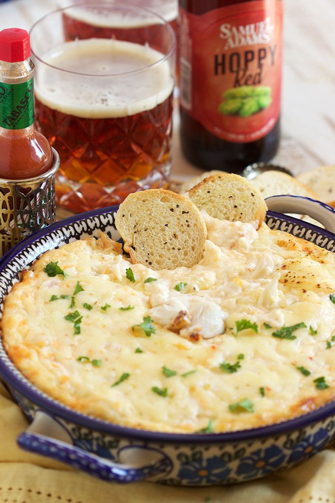 Hot Christmas Appetizers  The Very Best Hot Crab Dip Recipe